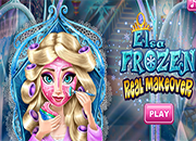 juegos Frozen Elsa Real Makeover