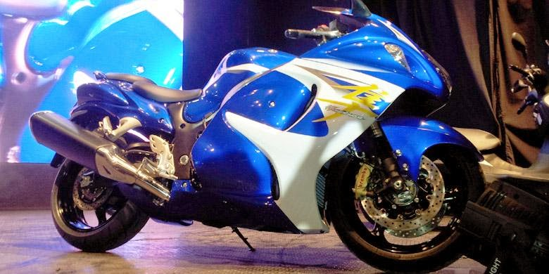 "Addressing Intrigued Against The ""Big Bike"" Suzuki"