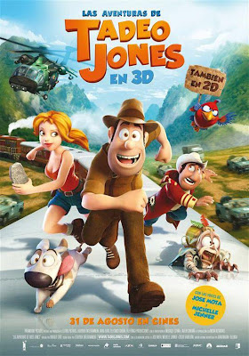 descargar Las Aventuras de Tadeo Jones – DVDRIP LATINO