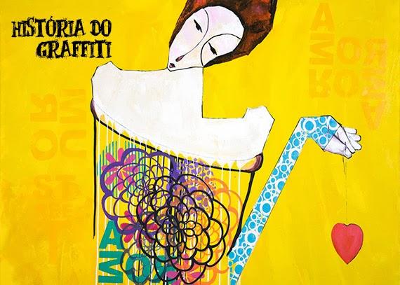 história do grafite - obra de arte urbana - promoção