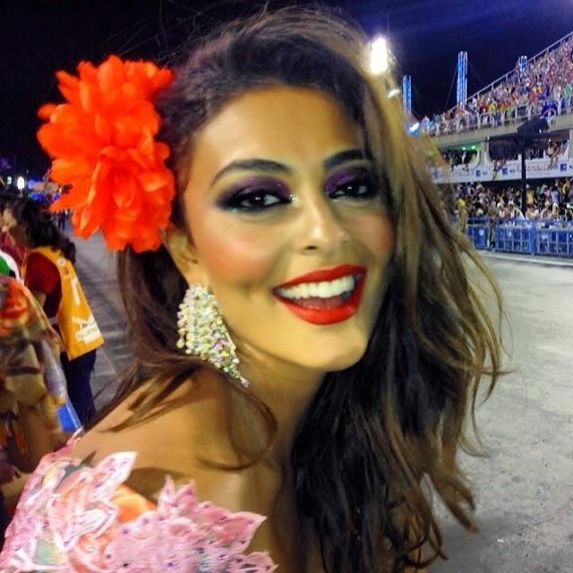 Juliana Paes 2014 A maquiagem de Juliana...