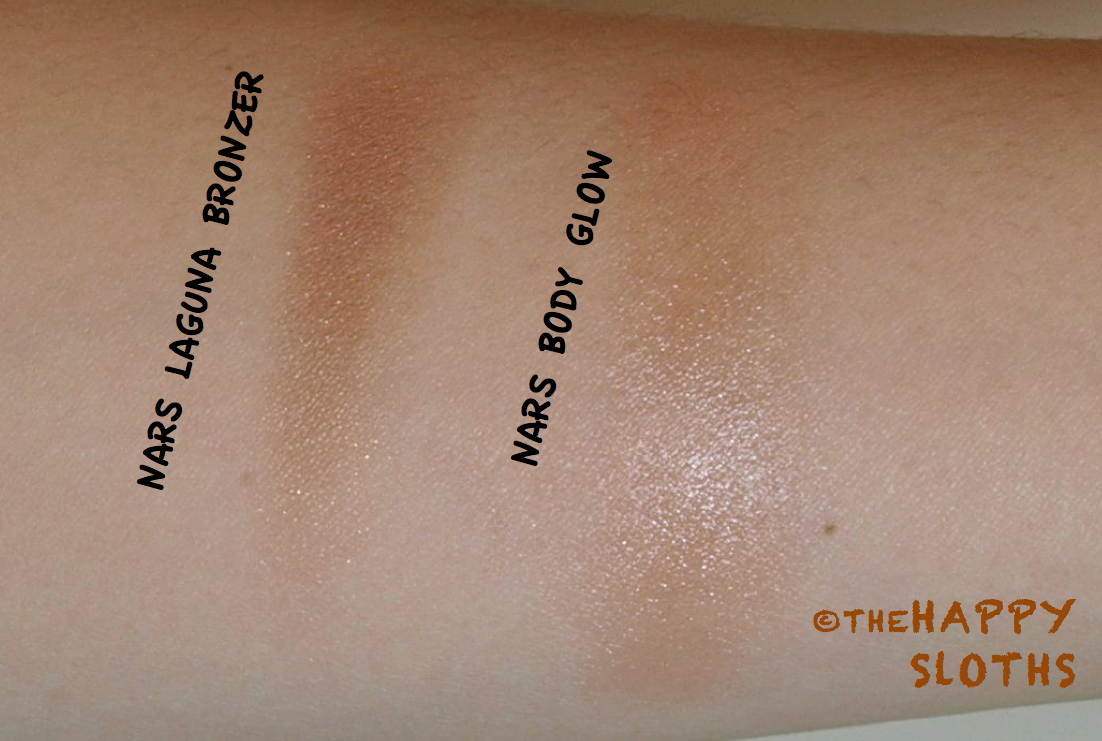 NARS Laguna Bronzer & Body Glow: Review and Swatches | The Happy Sloths: Beauty & Makeup Review ...