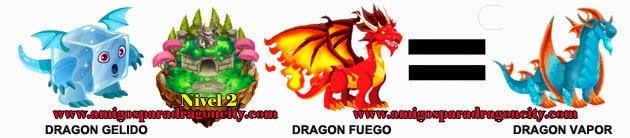 como obtener el dragon vapor en dragon city formula 2