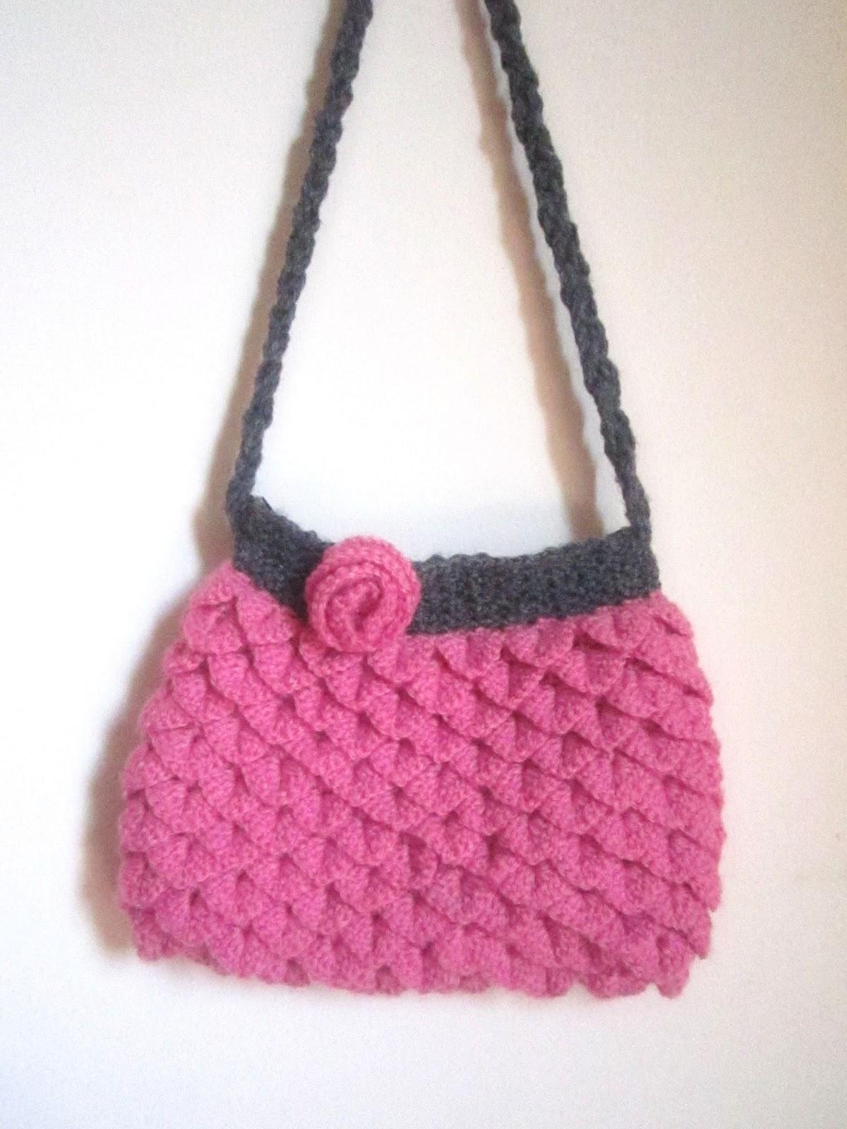 Sling bag crochet - My Crochet Project Mermaid Tears Purse