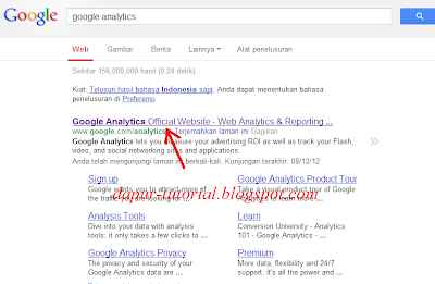 Google Analytics Step 1