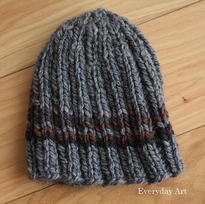 Everyday Art Mens Knit Beanie