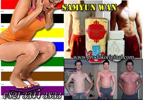 Samyun Wan Adalah Obat Penggemuk Badan Herbal Sangat ampuh Menambah Berat badan Dengan waktu Yang Cepat.