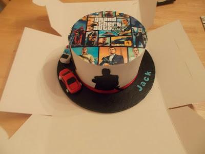Gta V Cake Topper