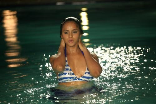 Neetu chandra coming out from swimming pool wet bollywood actress hot pics 2015