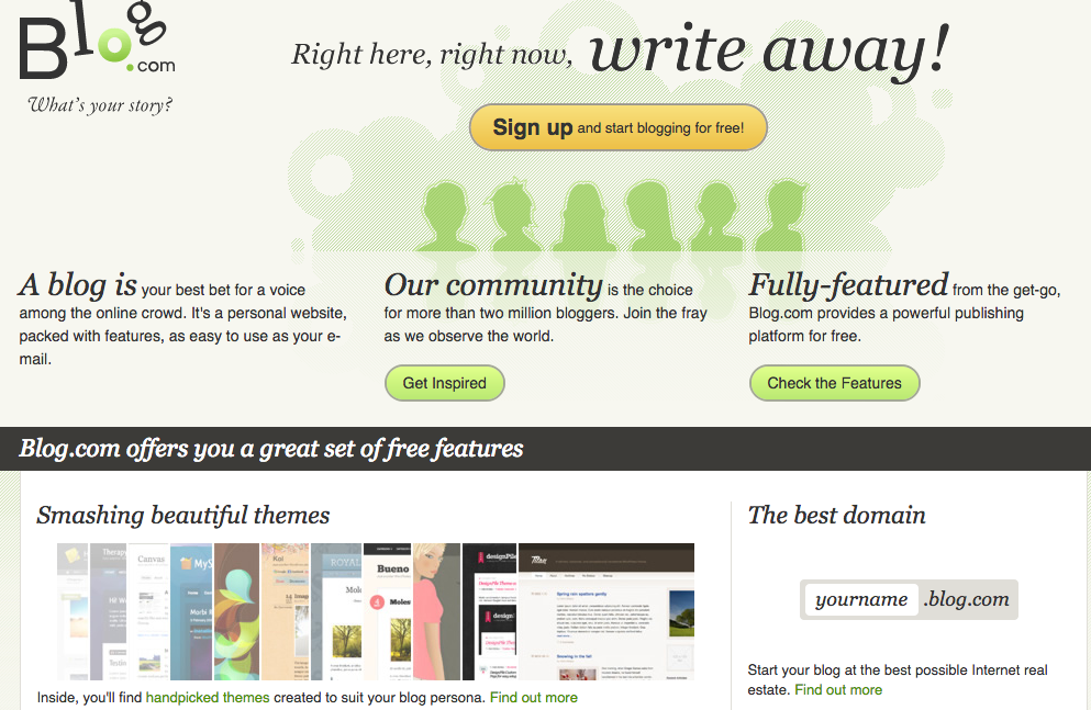 plataforma para crear blog gratis