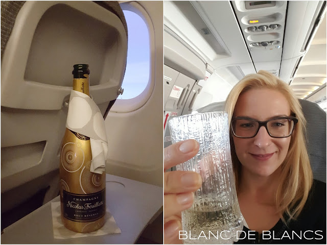 Samppanjaa lennolla - www.blancdeblancs.fi
