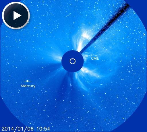 LLAMARADA SOLAR CLASE M4.0, 04 DE ENERO 2014