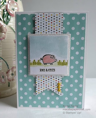 Stampin' Up! Barnyard Babies card