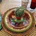 A Majolica Inspired Tablescape