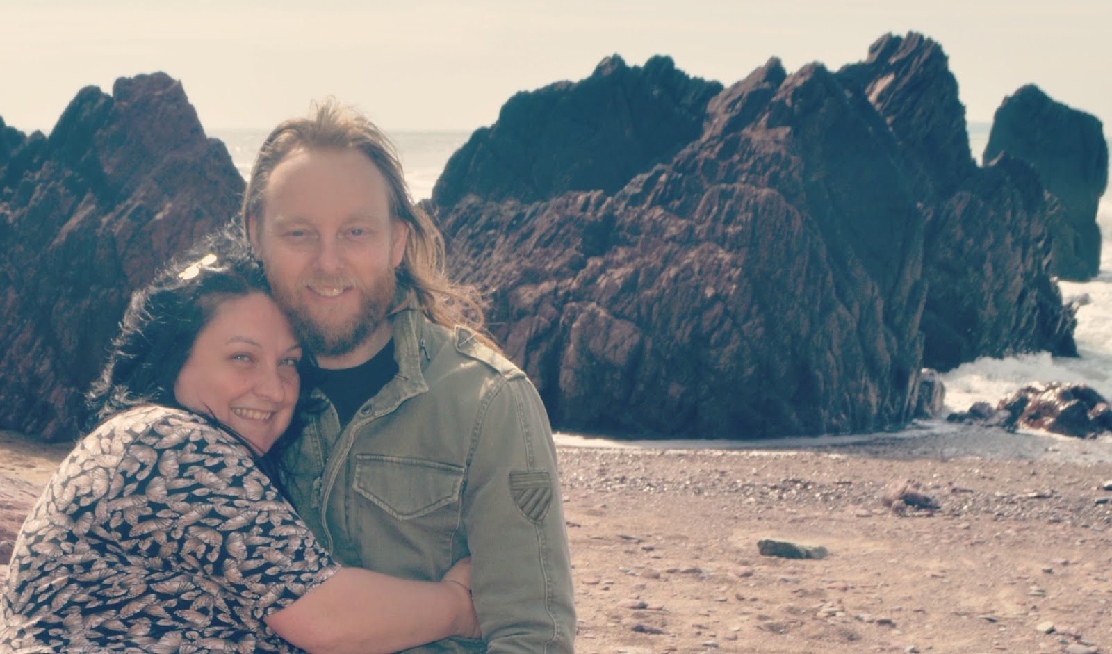 Me and You Linky Couples photography April West Dale Beach pembrokeshire