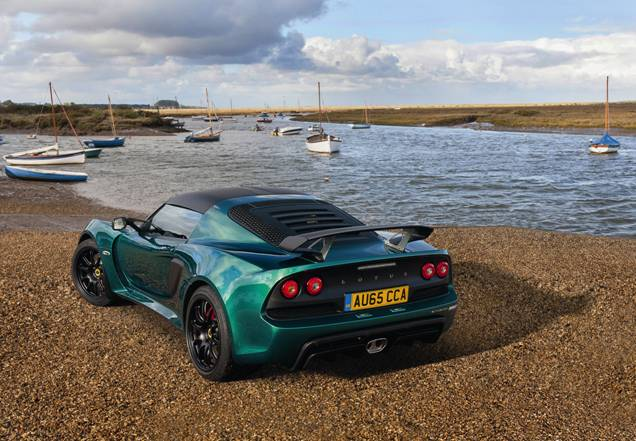 The Exige Sport 350u0027s Suspension, With Firmer Dampers And Revised Geometry,  Delivers More Responsive Handling And, Combined With A Lowered Centre Of  Gravity ...
