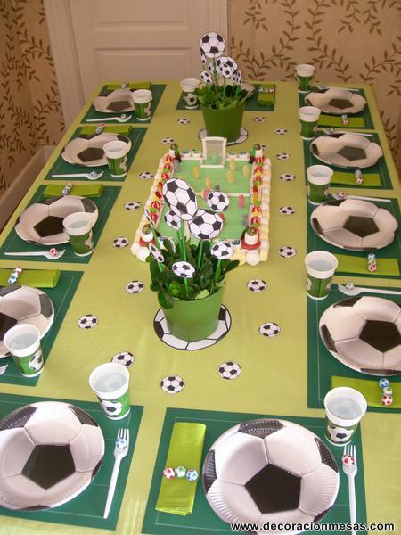 Decoracion de mesas junio 2012 - Decoracion mesa cumpleanos ...
