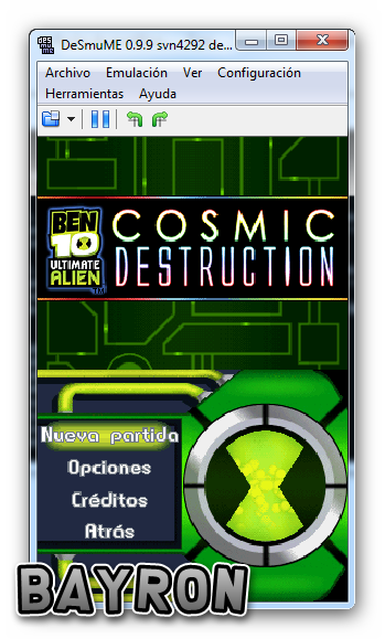 Ben 10 Ultimate Alien   Cosmic Destruction [NDS] [Español] [DF]
