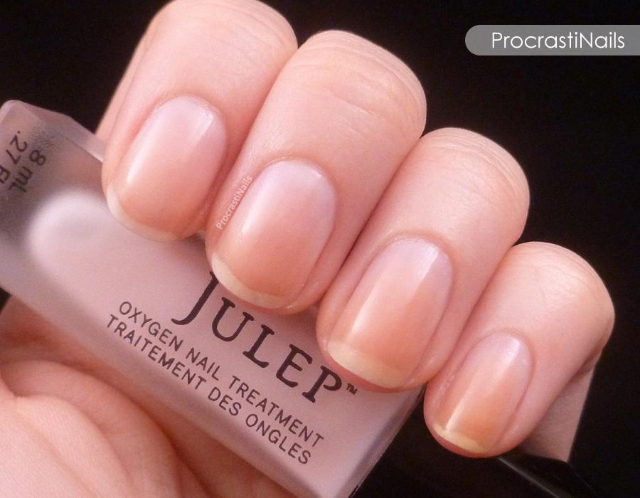 One Coat of Julep Oxygen Nail