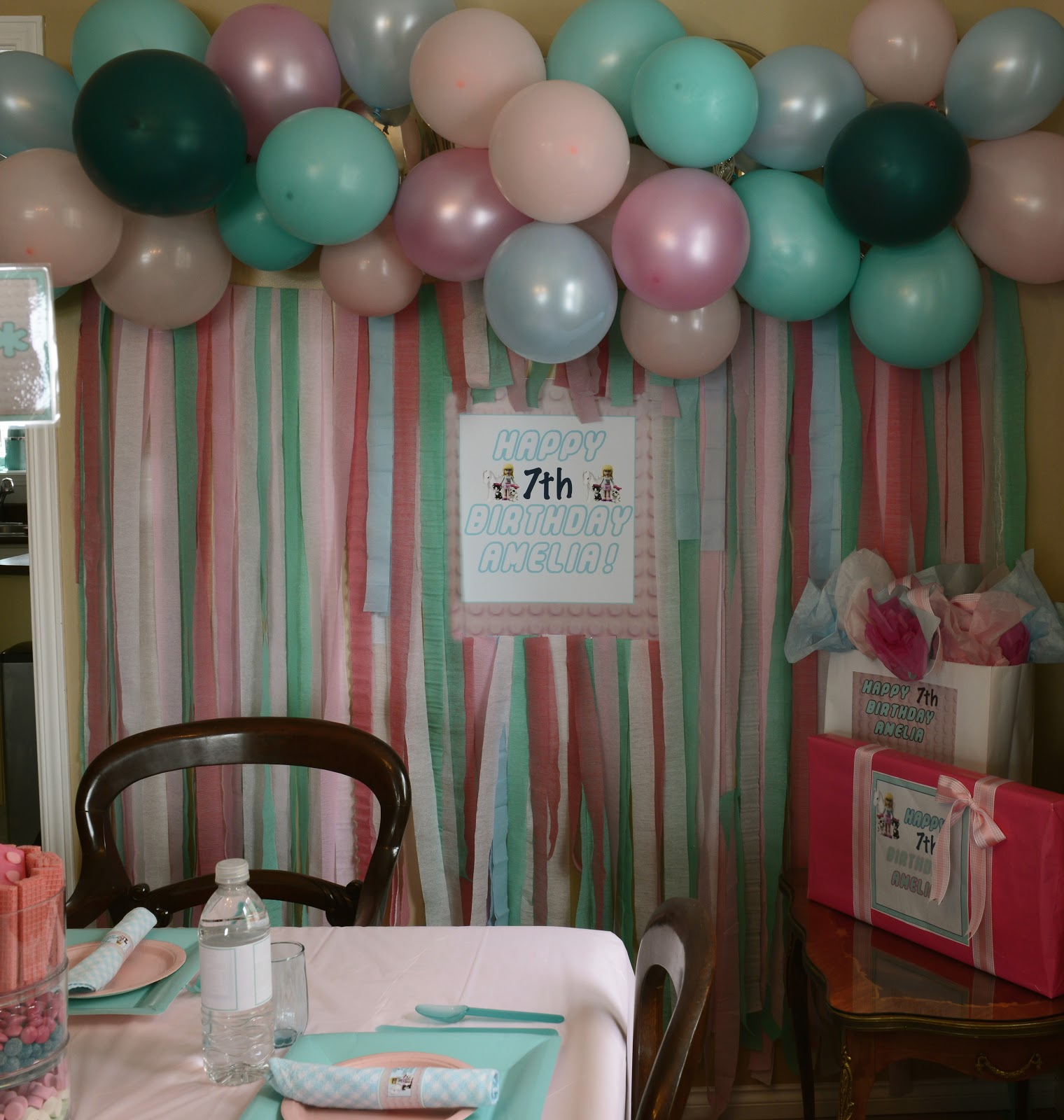 1000  images about Birthday ideas on Pinterest | Streamer wall ...