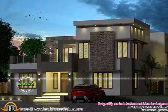 Outstanding Kerala home designs
