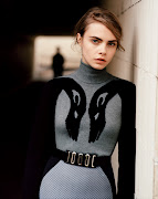 manchester division: cara delevingne by alasdair mclellan for purple #18 f/w .