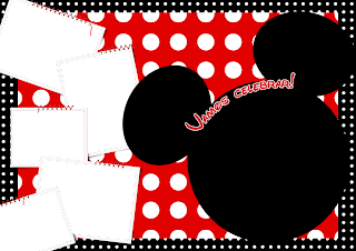 Mickey mouse to frame photos