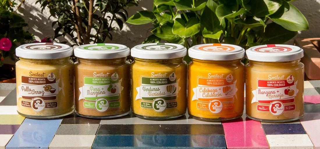 Smileat comida ecológica bebés empresa española