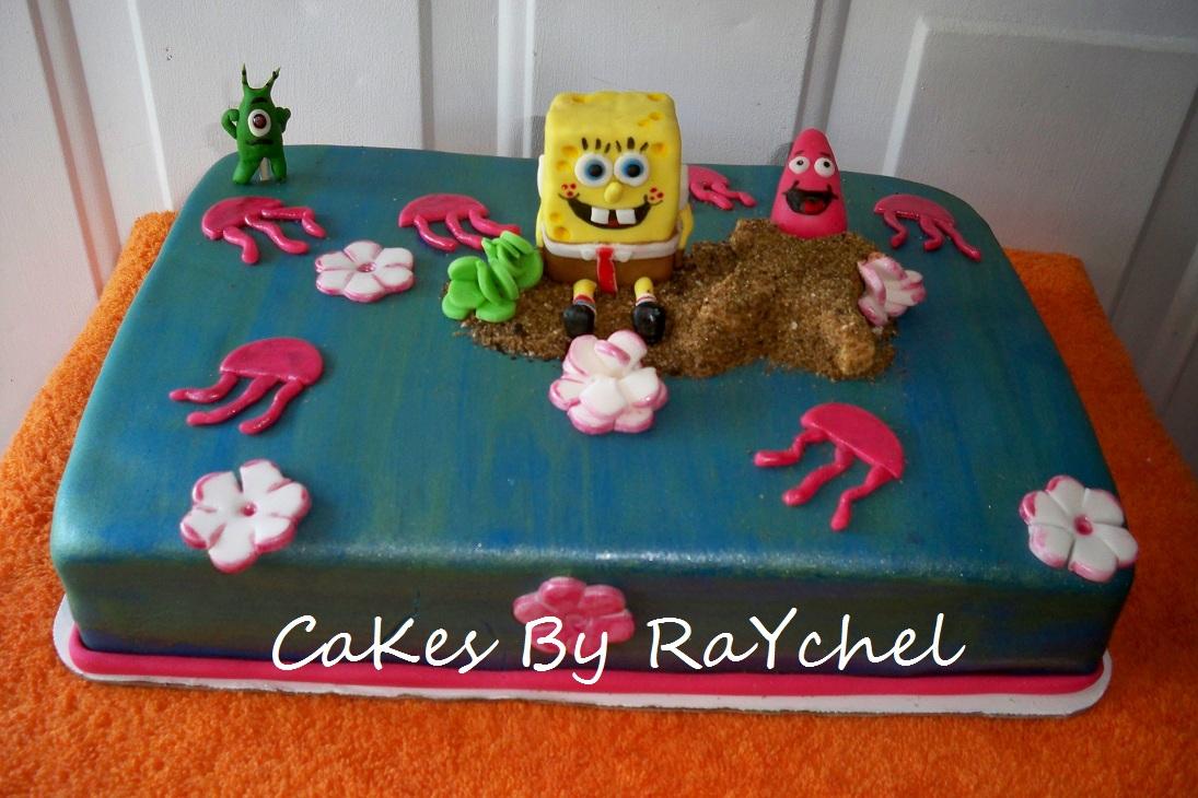 My Creative Way Spongebob Squarepants Sheet Cake
