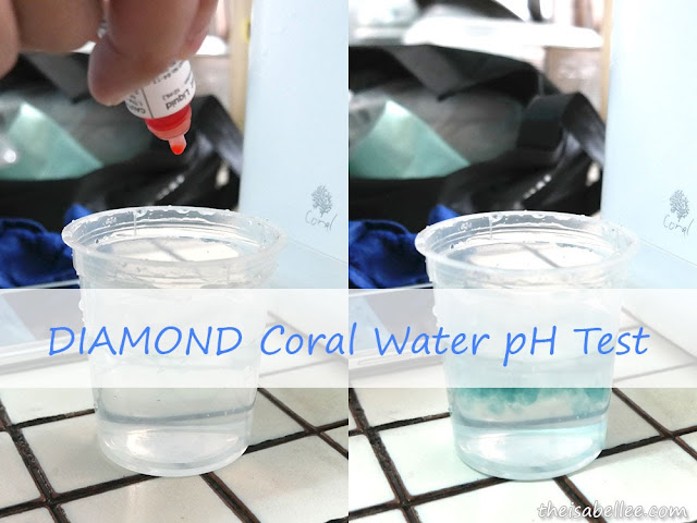 DIAMOND Coral Water pH test
