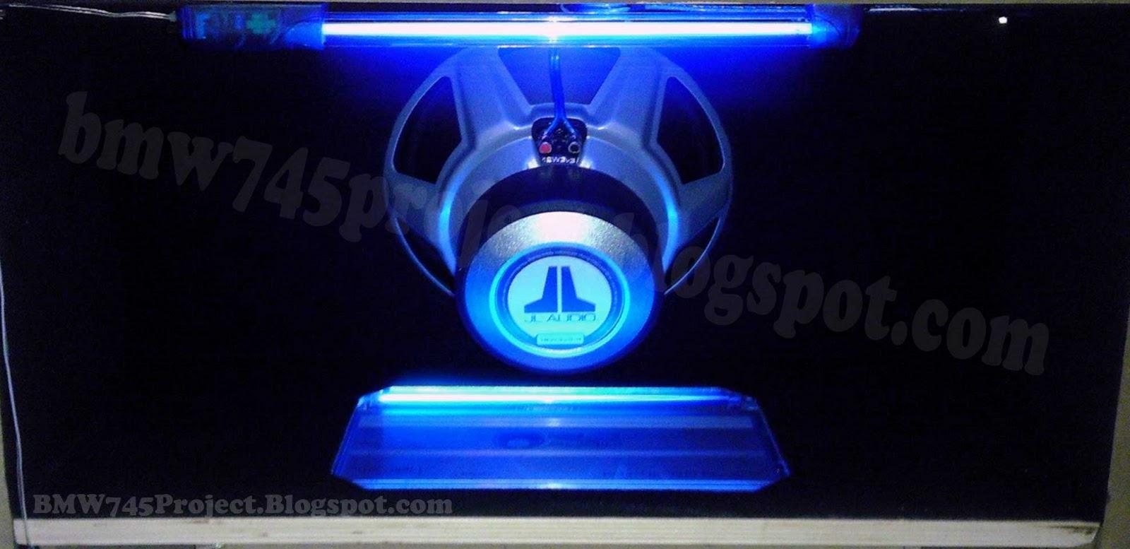 Bmw 745 Project Jl Audio Sound System Wiring