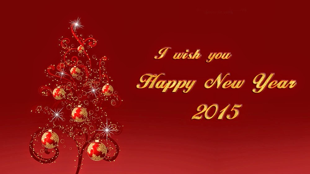 Beautiful Christmas Happy New Years Wishes 2015 Cards