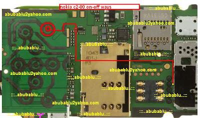Nokia C2-00 on off ways solution