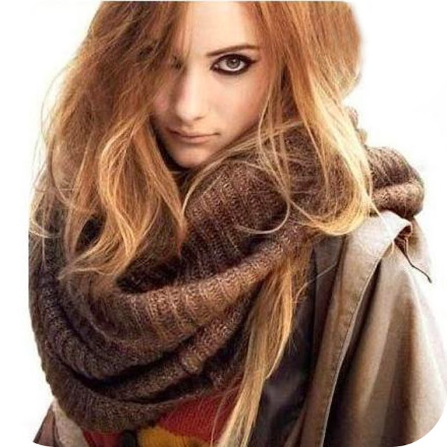 Winter Cozy Scarf in Latest Style For Women