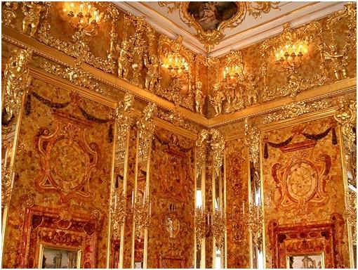 Historia de la sala mbar palacio de la zarina catalina for Sala 0 palacio de la prensa