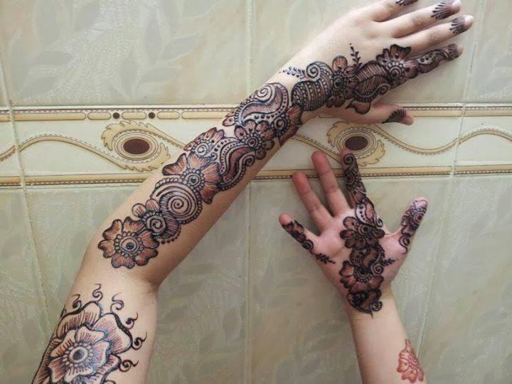 Gorgeous Bridal Mehndi Designs : Bridal mehndi designs: lovely henna art designs wallpapers