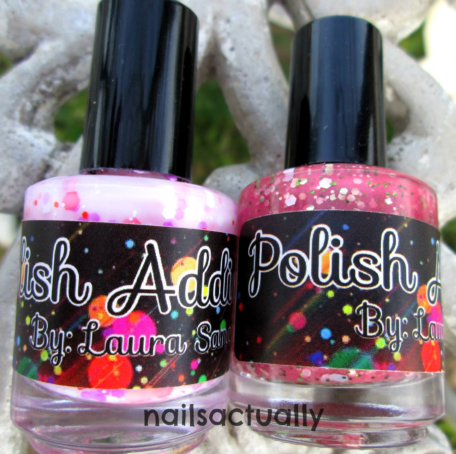Nails Actually: Review of Polish Addict Spring Polishes
