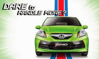 Honda Brio Penjualan tertingg kelas city cars