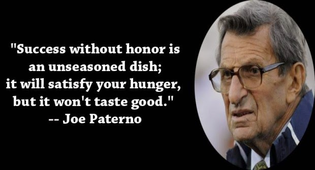 Success without honor is an unseason