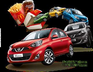 Promoção  McDonald's  carro acompanha