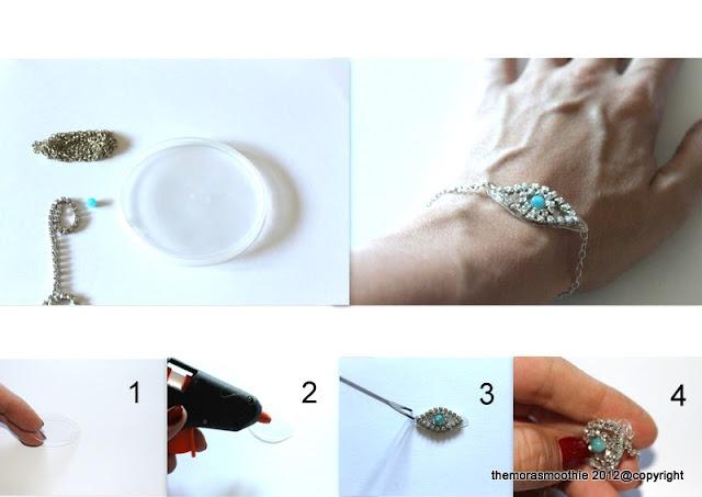 diy fashion, diybracelet, jewerly, tutorial
