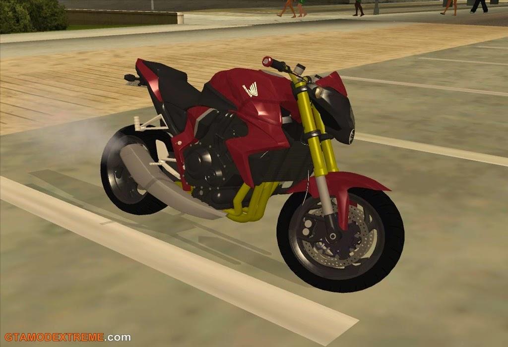 Baixar moto Honda CB1000R Original Para GTA San Andreas