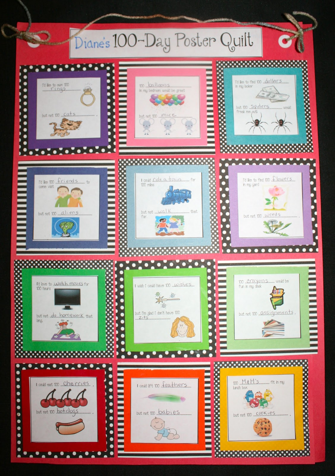 Classroom Paper Quilt Ideas ~ Day writing prompt quilts classroom freebies