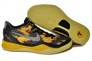 Kobe 8 Nike Zoom Shoes Preview - Black and Gold / Yellow
