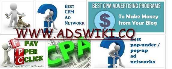 Adswiki - Ad networks review's