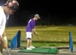 Tacada dupla de golfe