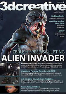 3D Creative Magazine Issue 091 March 2013