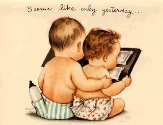 Imagens para decoupage de bebês