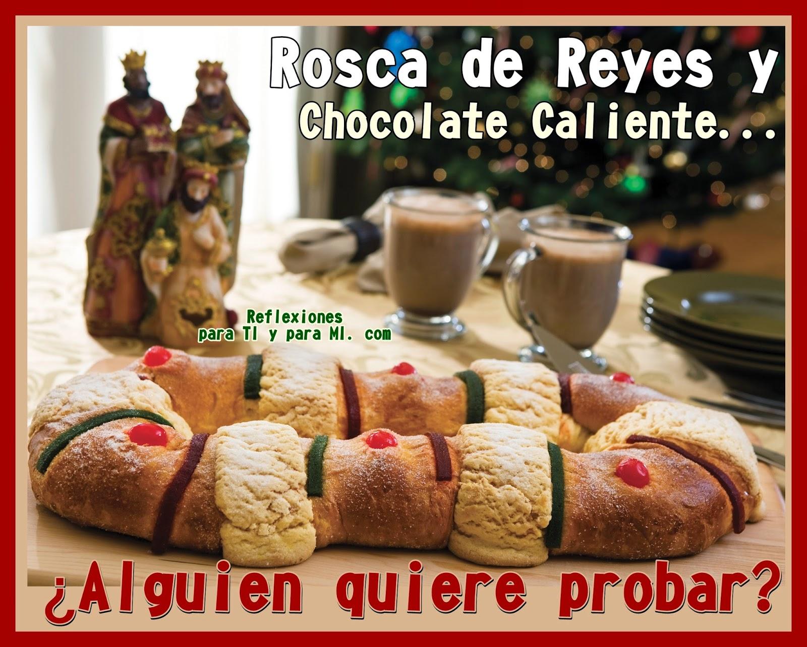 ROSCA DE REYES... ¿Alguien quiere probar?