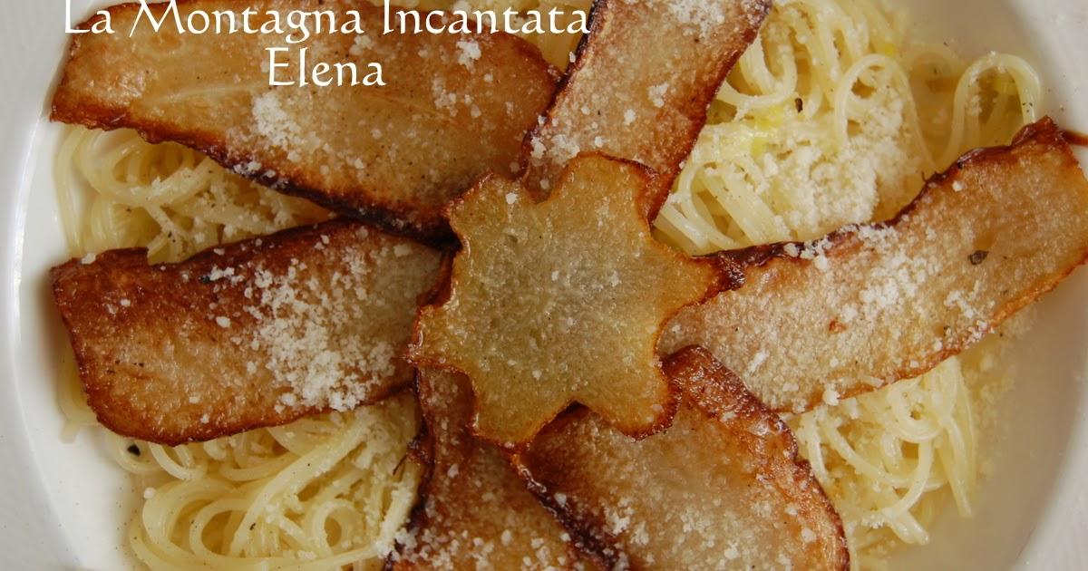 La montagna incantata pasta con la zucchina centenaria for La zucchina